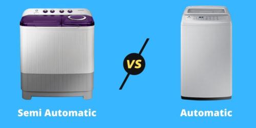 Semi-Automatic vs Fully-Automatic Washing Machine