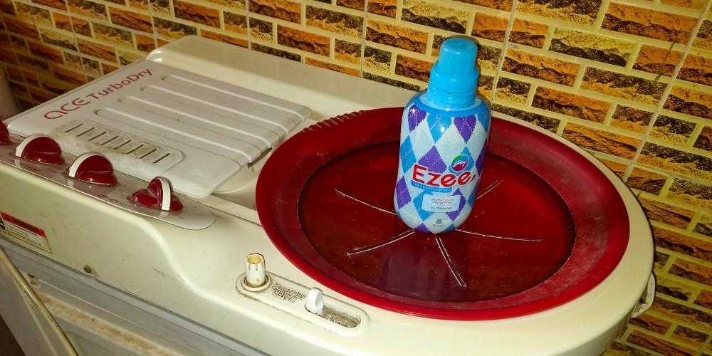 ezee on washing machine