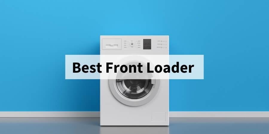 best front loading washing machine featured image